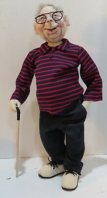 """*new* Cloth Art Doll Paper Pattern """"baby Boomer, Brian"""" By Sharon Mitchell"""