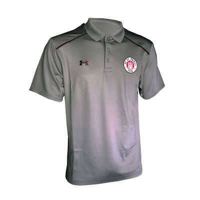 Under Armour Mens FC St. Pauli Football Soccer Short Sleeve Polo Shirt Top