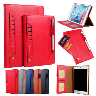 For Apple iPad Flip Folding Leather Wallet Case Shockproof Stand Cover Auto Wake