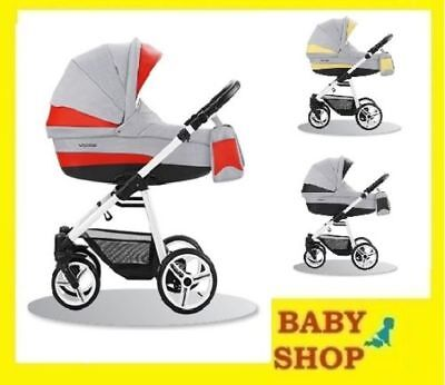 BEBETTO Vulcano 3in1 2018 Stroller Pushchair Sport seat FREE SHIPPING