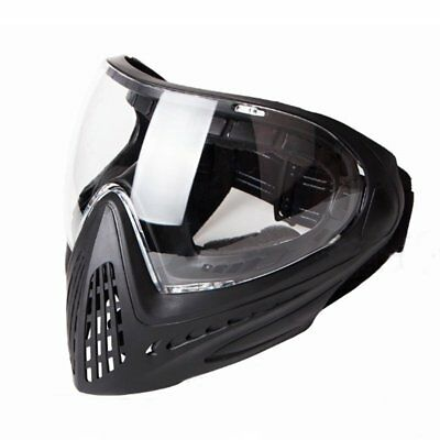 FMA Anti-fog Goggle Full Face Mask Tactical Paintball F0025 Single Layer Mirror