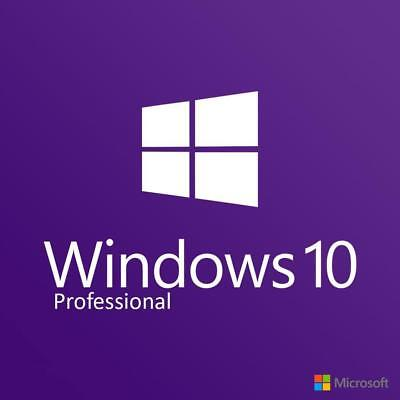 Microsoft Windows 10 PRO Professional Key + Download Fast Genuine Clean