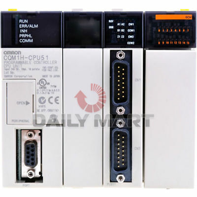 Brand New In Box Omron CQM1H-CPU51 CQM1HCPU51 Programmable Controller