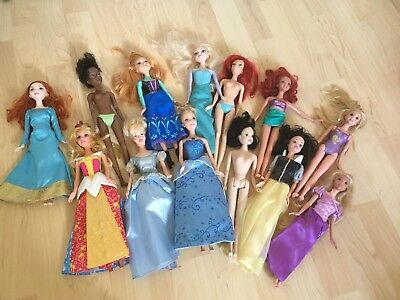 Disney Barbie Doll Bundle Lot