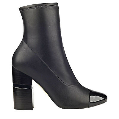 390ec4e74457 NEW IN BOX Womens Free People Nolita Ankle Boots Black Leather MSRP ...