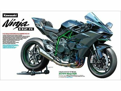Tamiya 14131 1/12 Kawasaki NINJA H2R w /Detailed Inline-4 Engine