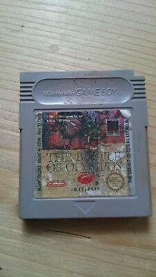 The Battle of Olympus Game Boy