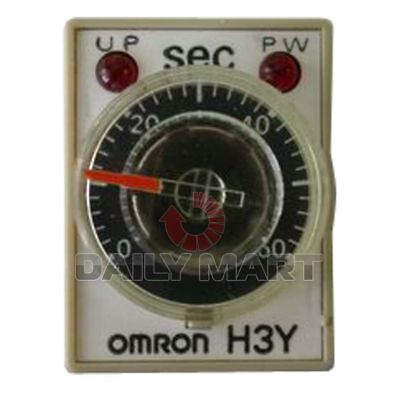 NEW Omron H3Y-4 110VAC 5S Delay Timer Time Relay