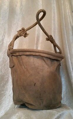 WW2 British Air Ministry RAF Canvas Water Carrier 1940 Battle Of Britain LOOK!
