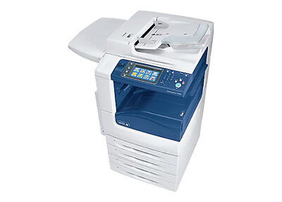 Xerox WorkCentre 7225 PRINT, COPY, SCAN, DUPLEX, USB, EMAIL ONLY 52,000 COPIES