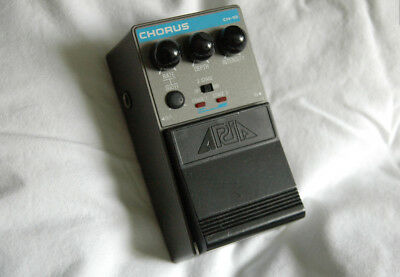 ARIA CH-10 Stereo CHORUS - PEDAL - Effect - Vintage Analog 80s - Made in Japan