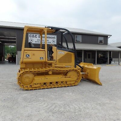 2000 John Deere 650H LT Dozer 100% New Bottom! Excellent shape!