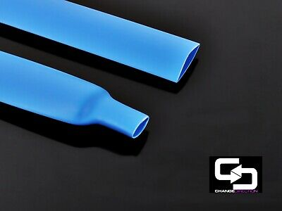 Heat Shrink: Double Wall Glue Lined 3:1 -12.7mm dia -500mm length (5x100mm)-BLUE
