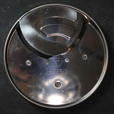 Vtg PART Cuisinart Food Processor Slicing Disc DLC-8 6    DLC 846    6MM Japan
