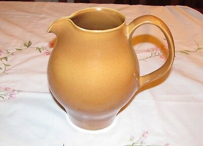 Vintage Russel Wright Iroquois Redesigned Water Pitcher Ripe Apricot LARGE