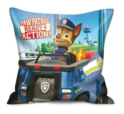 "Paw Patrol Kinder-Kissen Chase ""Ready for Action"" 40 x 40 cm"