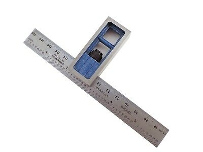 "6"" PEC English / Metric double machinist square accurate +/- 001""/6"""