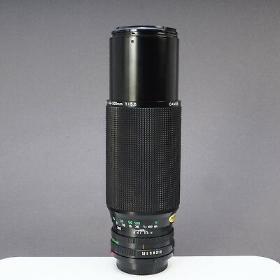 = Canon Zoom Lens FD 100-300mm f5.6 Telephoto Zoom Lens for Canon FD Mount