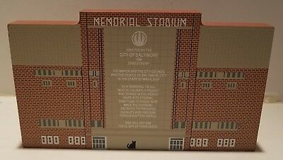 Cat's Meow Memorial Stadium Elected by the City of Baltimore 1995