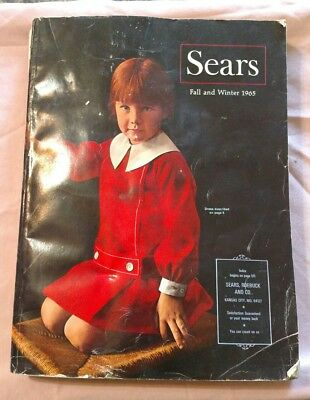 Sears catalog from Fall Winter 1965 Vintage