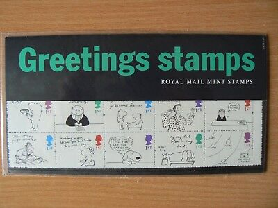 Royal Mail Mint Stamps Presentation Packs - 1996 Pack G5 - Greetings Stamps