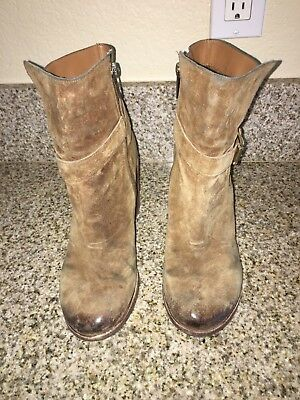 a0c052a89 SAM EDELMAN WOMENS Ankle Boots Brown Suede Size 8.5 Us -  20.00 ...