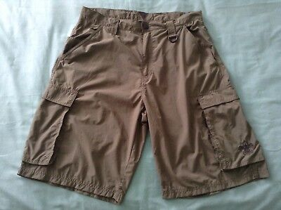 Boy Scouts Of America Men's Medium Green Nylon Cargo Shorts  Never Worn