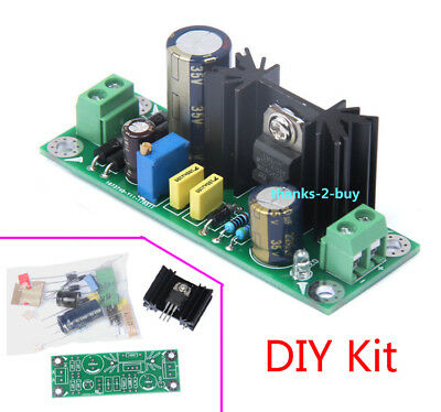 10pcs lm317 adjustable power supply board with rectified ac dc inputlm317 adjustable power supply board with rectified ac dc input diy kit