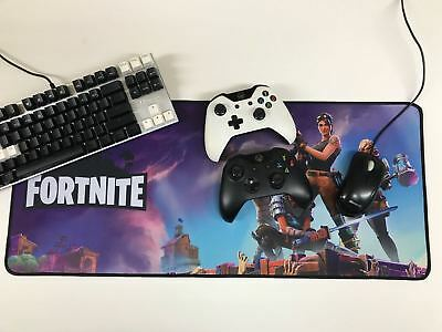 FORTNITE Large Mousemat Extended Mouse Pad Gaming Mat for PC, PS4, Laptops, Xbox