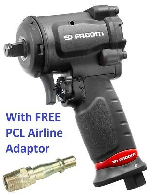 Facom 1/2″ Drive Micro Composite Air Impact Gun Wrench 861Nm + Free PCL Adaptor
