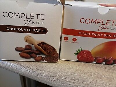 Juice plus complete riegel Mixed chocolate fruit