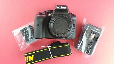 Nikon D D5300 24.2MP Digital SLR Camera (Body Only) pre-Owned #boek9