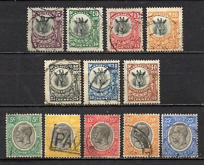 Tanganyika mixed older era collection,stamps as per scan(4633)