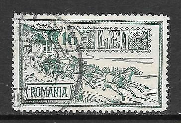 ROMANIA - 1932. Opening of G.P.O Anniv - 16l., Used.