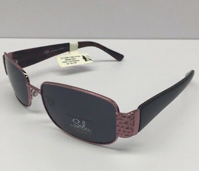60635242cef Sol By Daisy Fuentes Polarized 57-16-130 RXable Pink