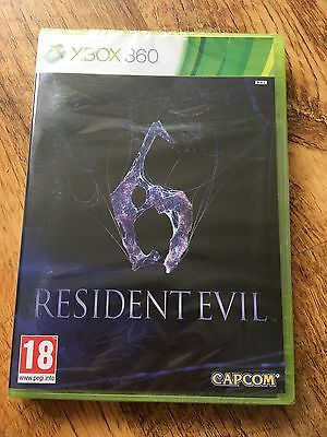 Xbox 360 Pal Game Resident Evil 6 With Box Instructions 449