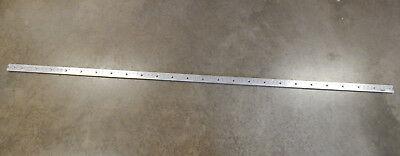 """100"""" Flanged Aluminum Airline-Style Track"""