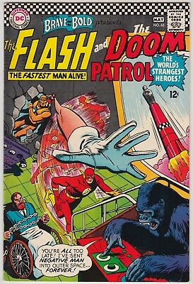 The Brave And The Bold #65 Dc Comics Fn Condition Flash & Doom Patrol