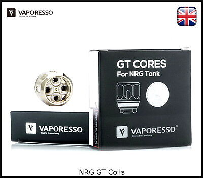 Vaporesso GT Coils NRG Tank - Swag - GT2 GT4 GT6 GT8 cCell - 100% Authentic