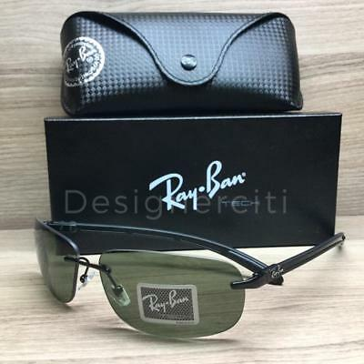 fbc2caab9f Ray Ban RB 8303 RB8303 Tech Sunglasses Black Carbon Fiber 002 9A Polarized  61mm