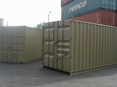 15 foot by 8 foot high cube shipping container