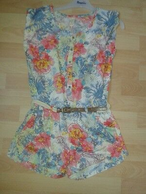 So 15 Pampolina Overalls with Flowers Size gr.128-164