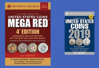2019 Official Mega Red Book of United States Coins PLUS Blue Book