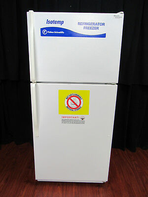 Fisher Scientific Isotemp 13-986-106A Laboratory Refrigerator and Freezer