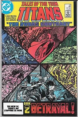 Tales Of The Teen Titans #43 (Vf/nm) Judas Contract Part 2, Copper Age