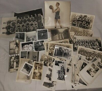 Over 100 random vintaged black and white photo lot early picture lot old