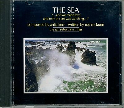 SAN SEBASTIAN STRINGS - THE SEA composed by Anita Kerr/written by Rod McKuen CD