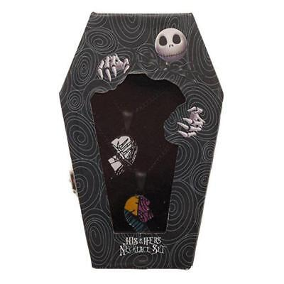 +Nightmare Before Christmas | His & Hers NECKLACE In COFFIN BOX