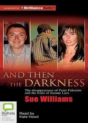 Sue WILLIAMS / And THEN the DARKNESS       [ Audiobook ]