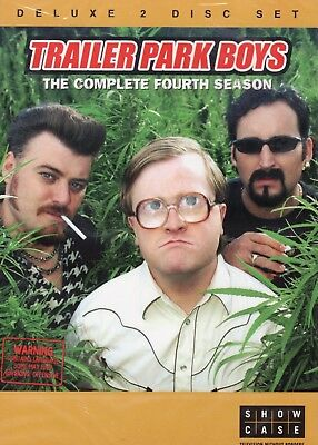 Trailer Park Boys Season 4 Brand New and Sealed Deluxe 2 Disc Set